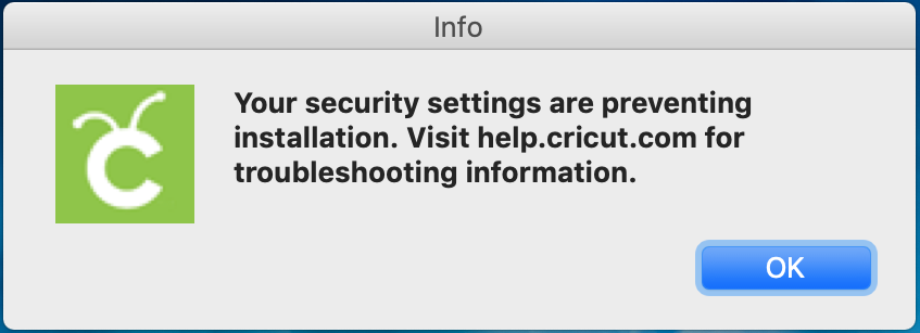 Mac: Security settings are preventing installation – Help Center